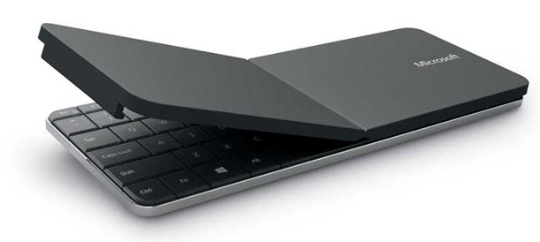 Hau Wedge die… Microsoft Wedge Keyboard + Maus