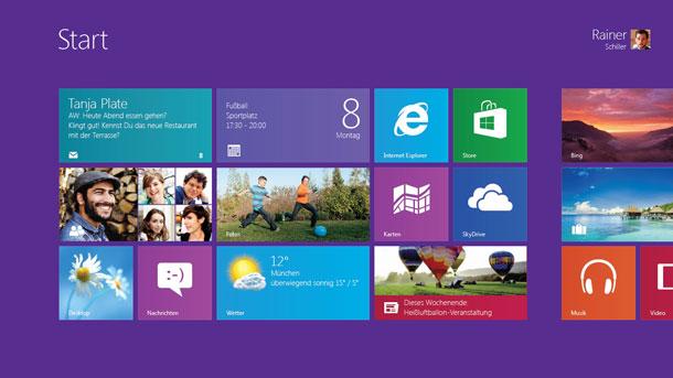 Eine neue Ära: Microsoft gibt Startschuss für Windows 8