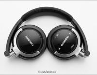 Jetzt bei Amazon kaufen: Novero Rockdale Stereo Bluetooth Kopfhörer zusammengeklappt