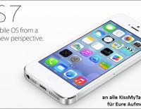 KissMyTablet Thema: iOS 7 bei der WWDC