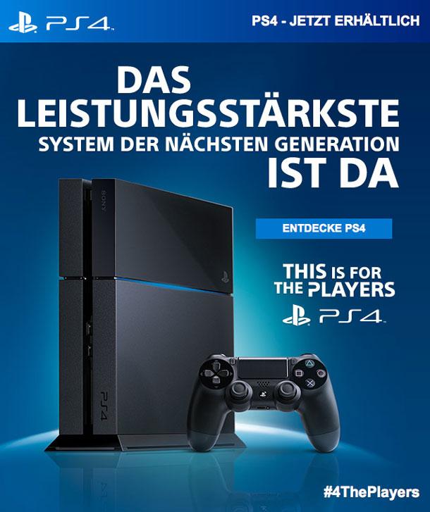 Es-ist-soweit PlayStation 4 - Konsole