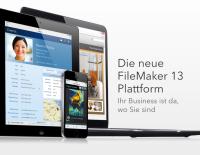 Ihr Business ist da, wo Sie sind - FileMaker 13 ab Januar 2014