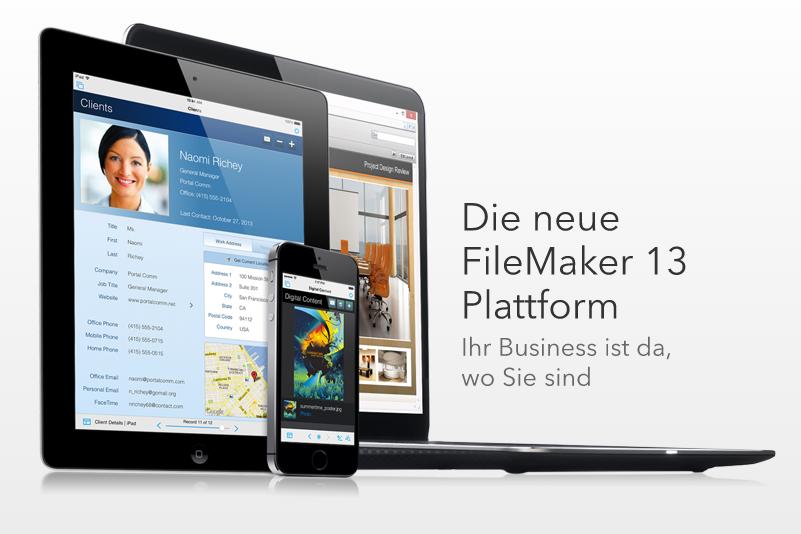 FileMaker 13 Tour im Januar: Launchevents für Kunden