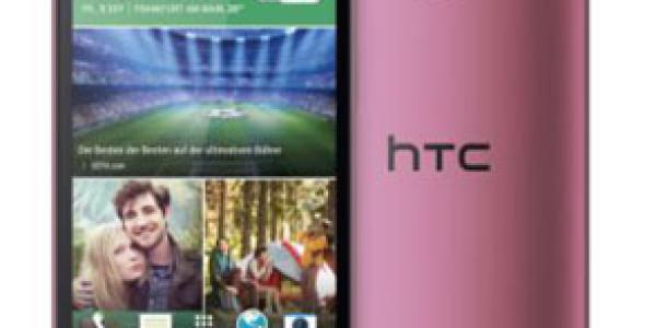 DAS HTC ONE MINI 2 – JETZT IN PINK