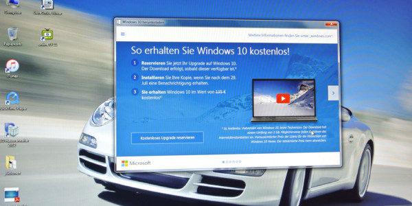 Ich habe Bock auf Windows 10 – meine Reservierung
