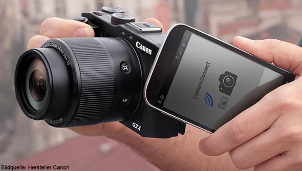 Teilen ganz mühelos mit Camera Connect
