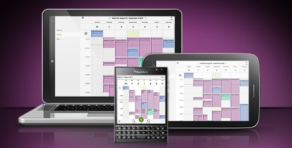 BlackBerry Blend in Action auf KissMyTablet