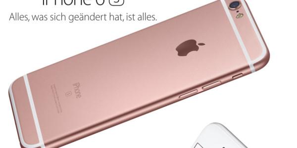 Apple stellt iPhone 6s vor