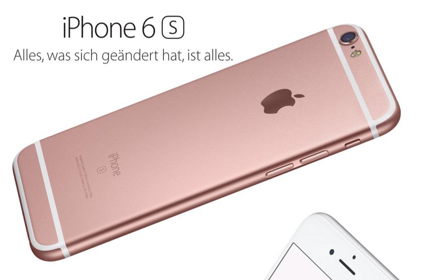 iPhone 6s ist da