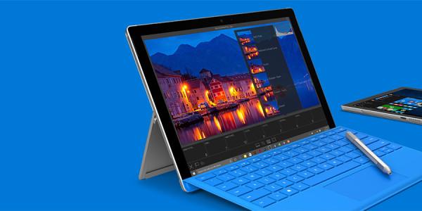 Surface Pro 4 im Schnellüberblick