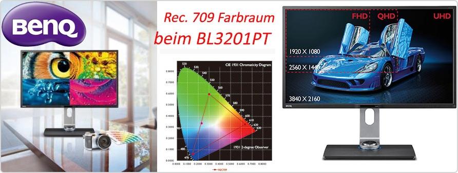 Header zum BenQ BL3201PT
