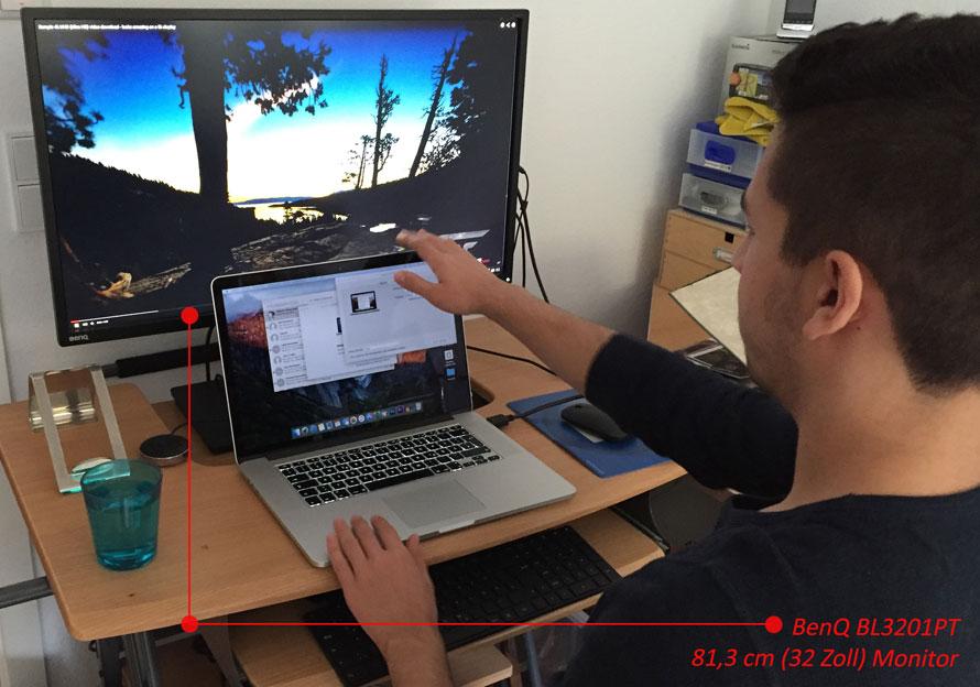 Warum Ein Mammut Led Display Mit 32 Zoll Sehr Gut Zu Eurem Desktop