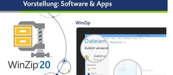 Beitragsbild WinZip 20 auf KissMyTablet