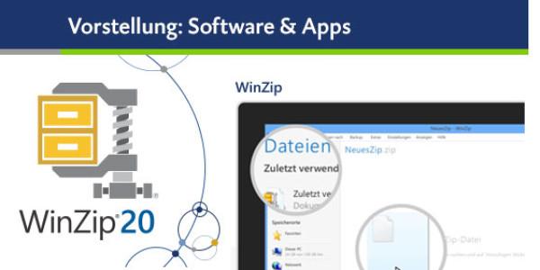 Das waren Zeiten – heute gibt es WinZip 20