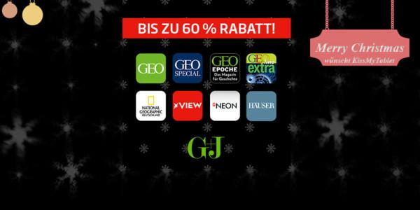TIPP: Eine der größten Weihnachts-Preisaktionen bei Gruner & Jahr