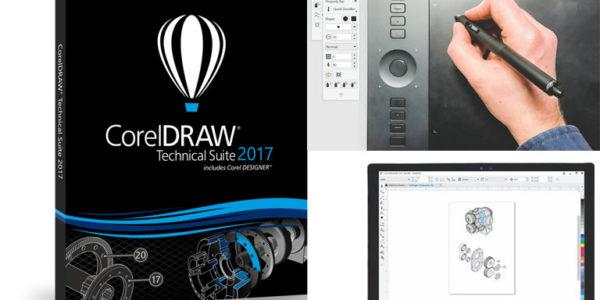 Jetzt verfügbar: die CorelDRAW Technical Suite 2017