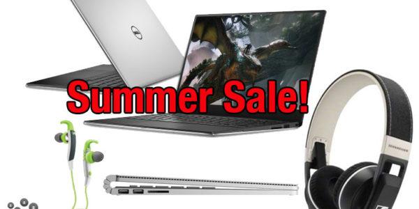 Summer Sale bei Microsoft – coole PC für die Sommerhitze