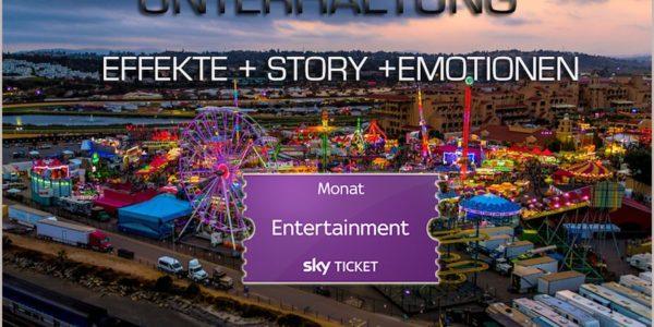Definiere Unterhaltung: Wie ihr aktuelle Entertainment-Hits auf Euer Mobilgerät mitnehmt und im ersten Monat 50% spart